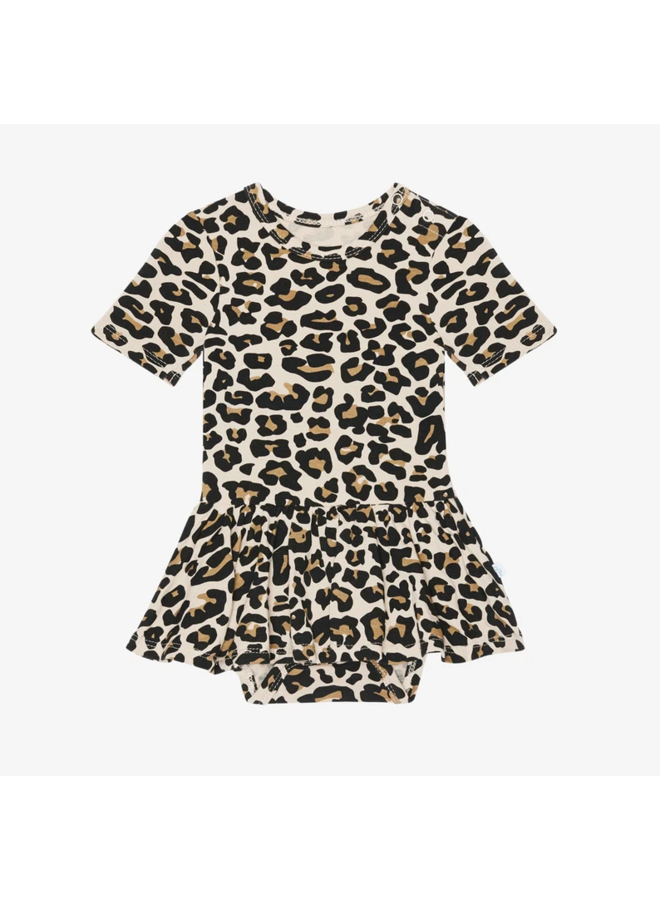 Lana Leopard - Twirl Skirt Bodysuit