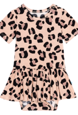 Sasha - Short Sleeve Twirl Bodysuit