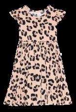 Sasha - Ruffled Capsleeve Twirl Dress