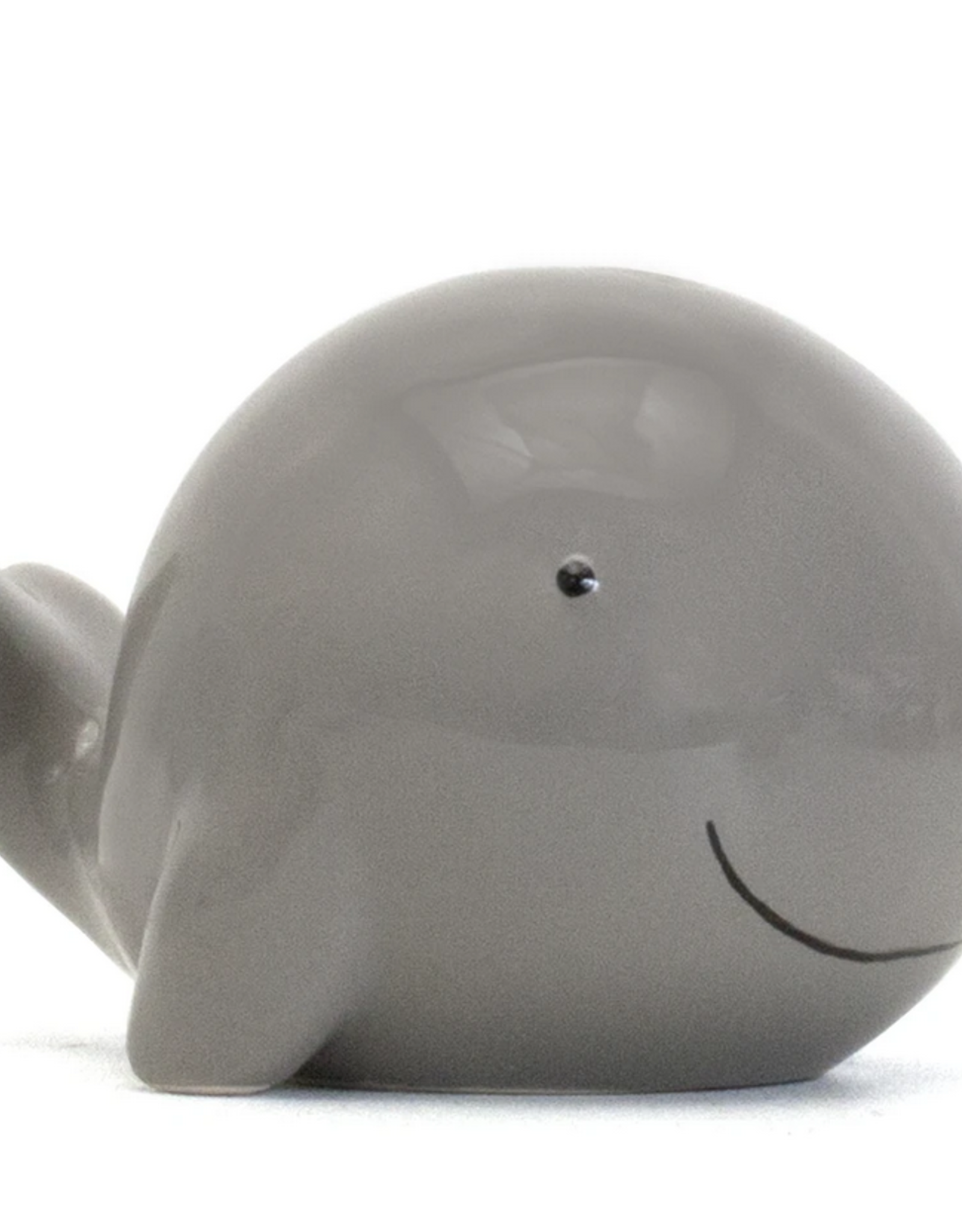 Child to Cherish Gray Solid Whale