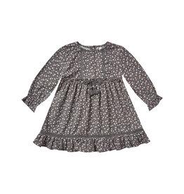 Rylee + Cru Ditsy Isabella Dress - Washed Indigo