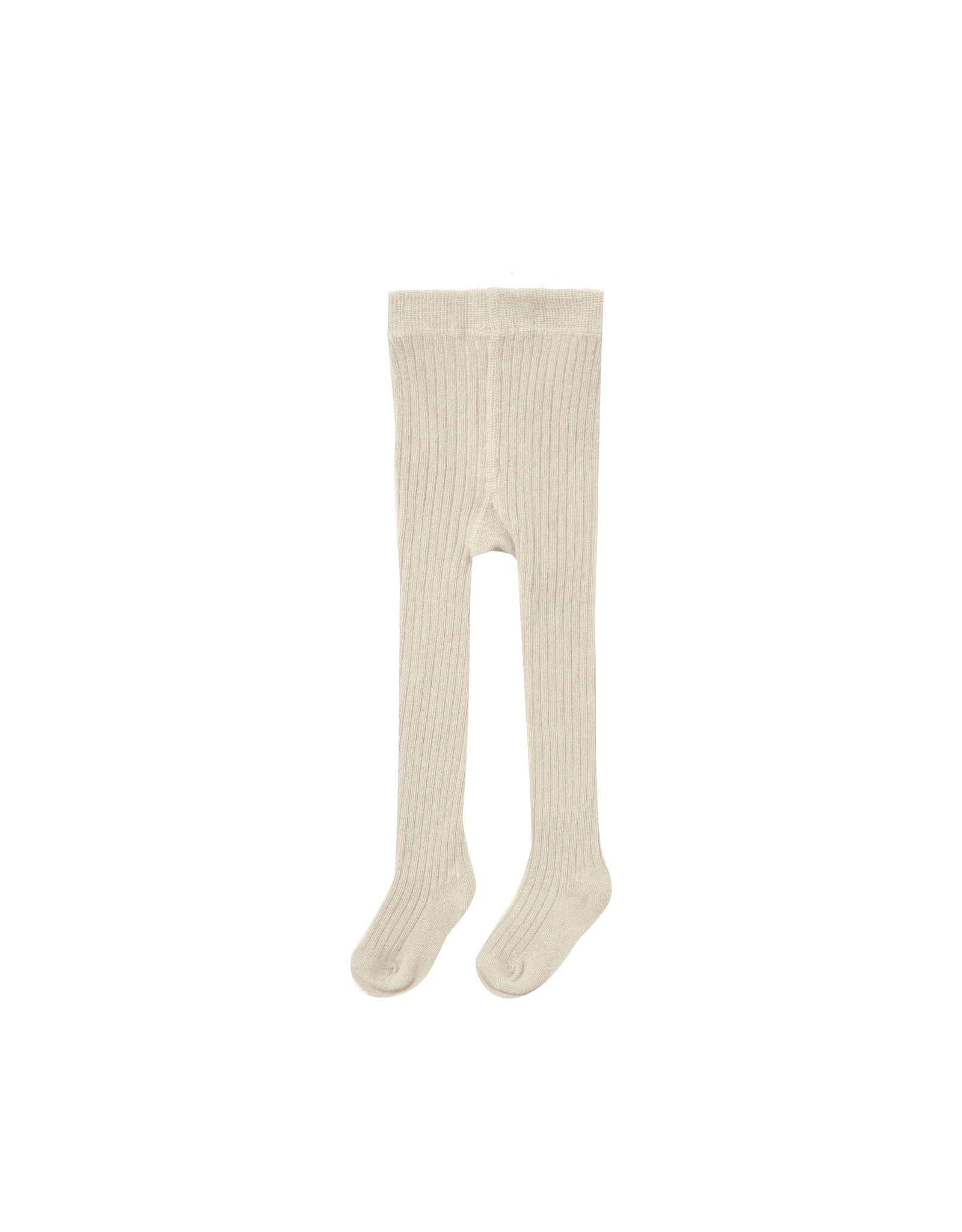 Rylee + Cru Rib Knit Tights - Natural