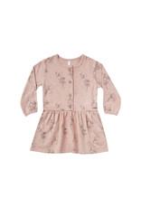 Rylee + Cru Fairy Button Up Dress - Rose