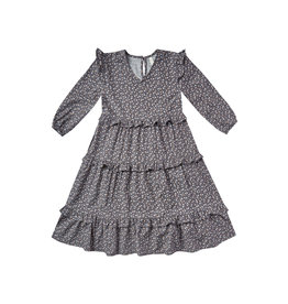 Rylee + Cru Ditsy Mabel Dress - Washed Indigo