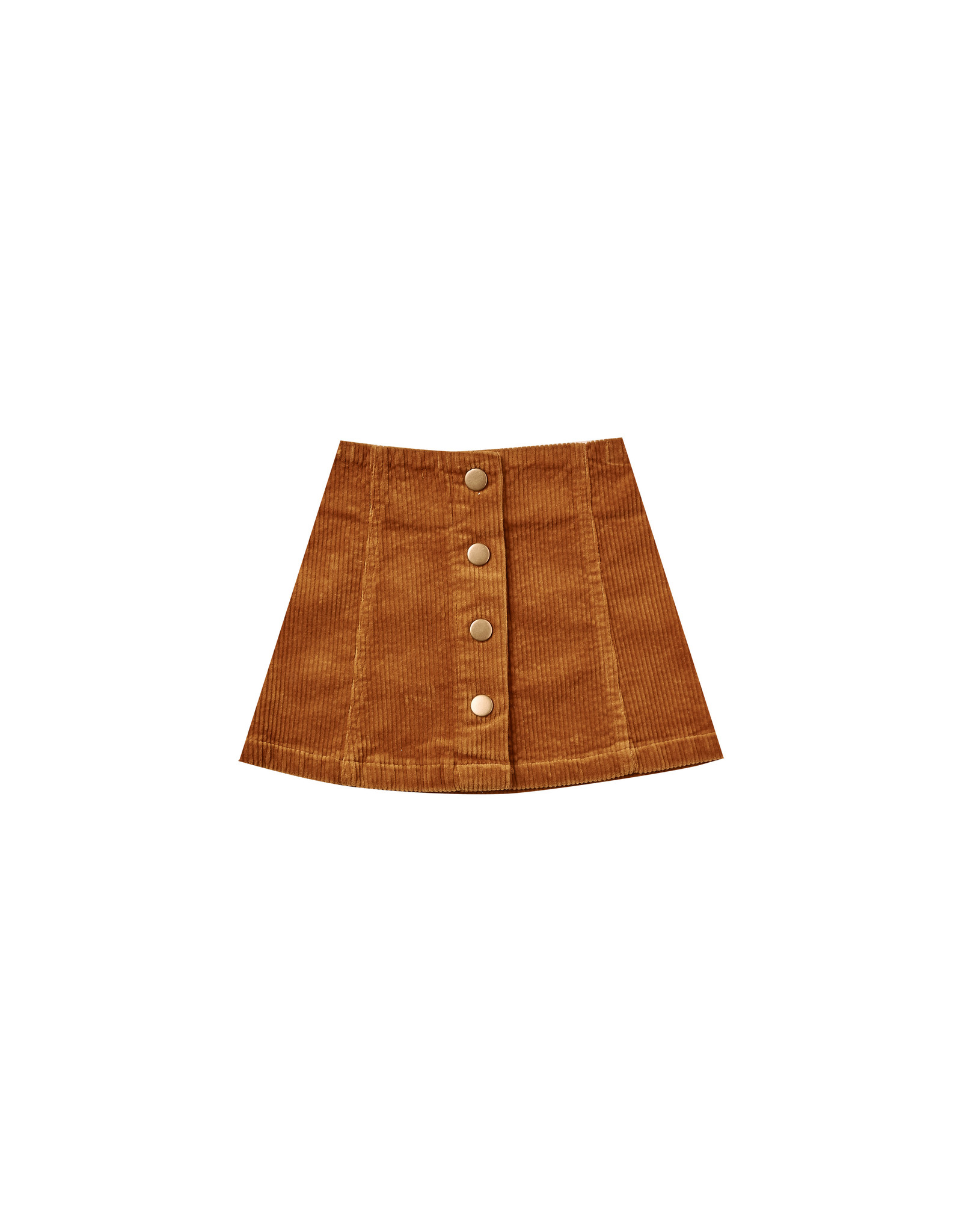 Rylee + Cru Corduroy Mini Skirt - Cinnamon