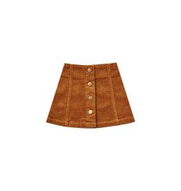 Rylee + Cru Corduroy Mini Skirt - Cinnamon