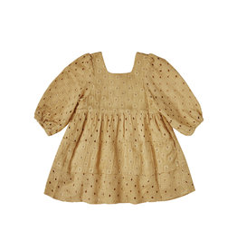Rylee + Cru Gretta Baby Doll Dress - Goldenrod