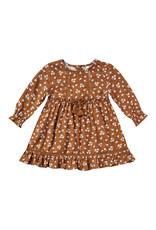 Rylee + Cru Ditsy Isabella Dress - Cinnamon