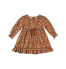 Rylee + Cru Ditsy Isabella Dress - Cinnamon