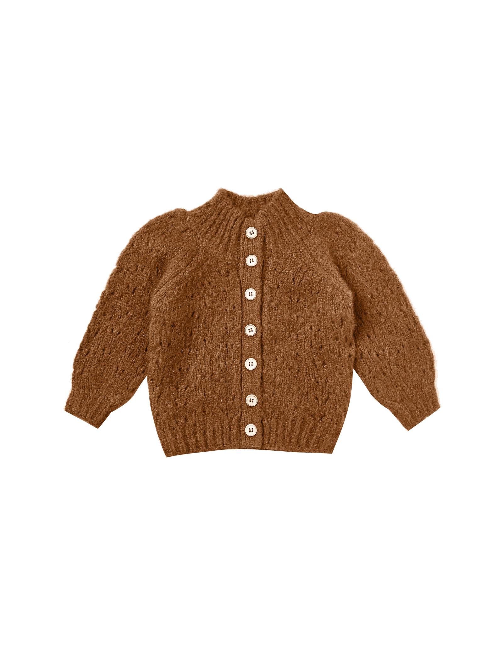 Rylee + Cru Tulip Sweater - Cinnamon