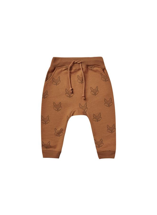 Fox Sweatpants - Cinnamon