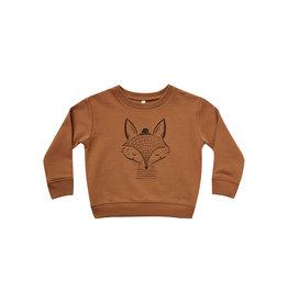 Rylee + Cru Fox Sweatshirt - Cinnamon
