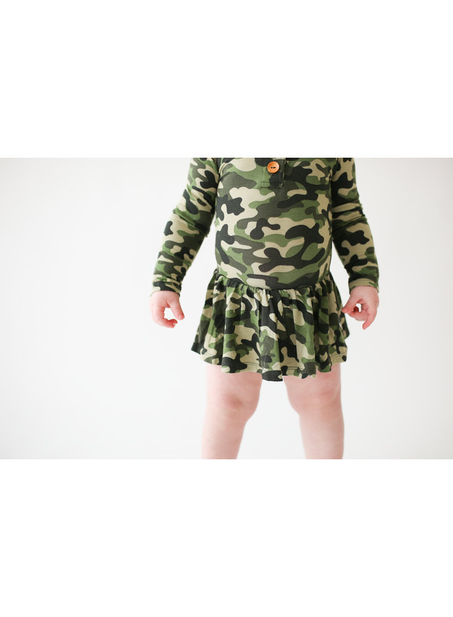 Cadet - Long Sleeve with Twirl Skirt Bodysuit