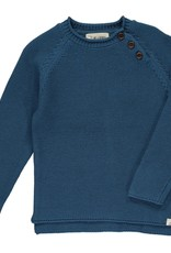 Blue Cotton Sweater