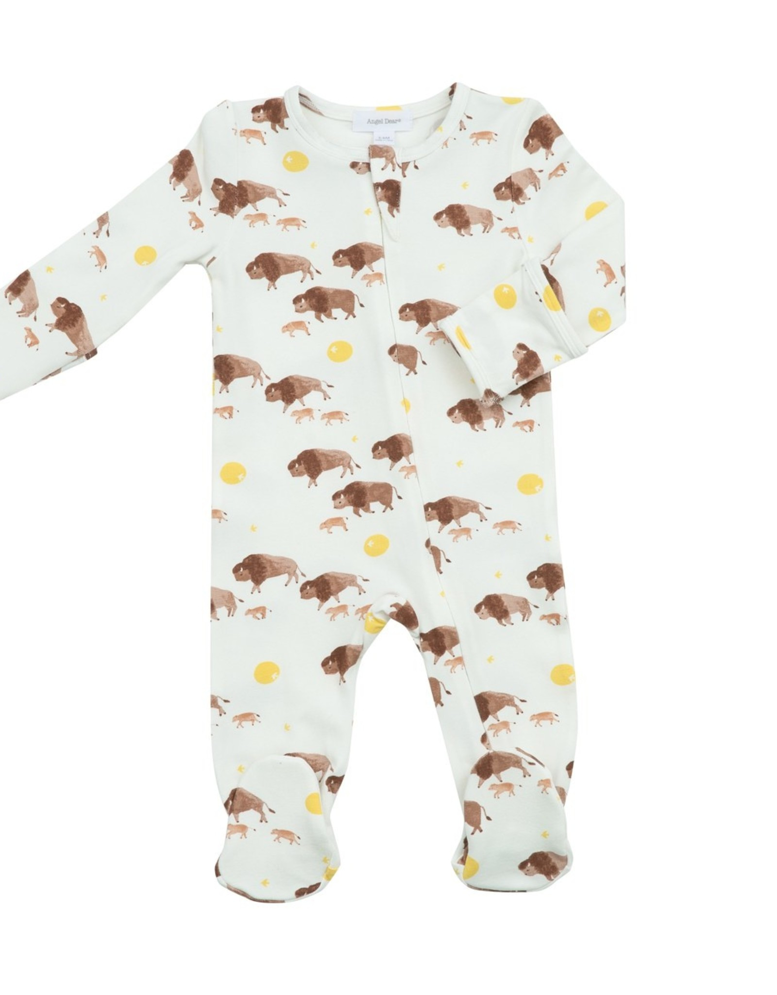 Bison Zipper Footie