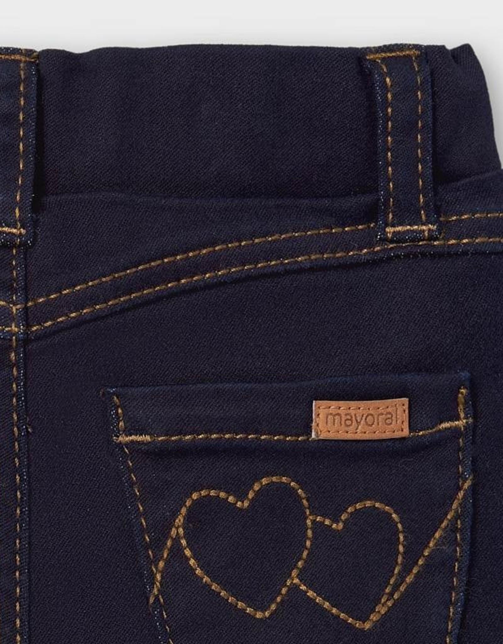 Super Skinny Dark Denim - Two Heart Pocket