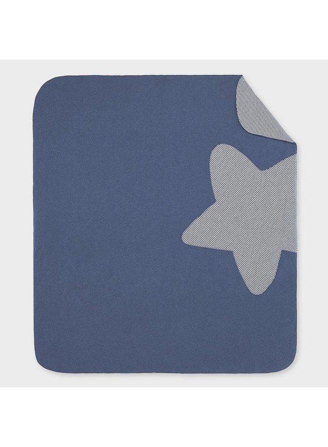 Indigo Star Blanket