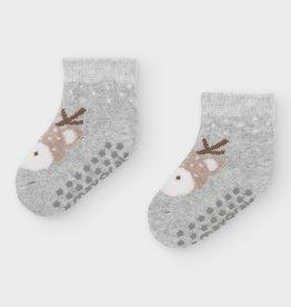 Gray Deer Socks