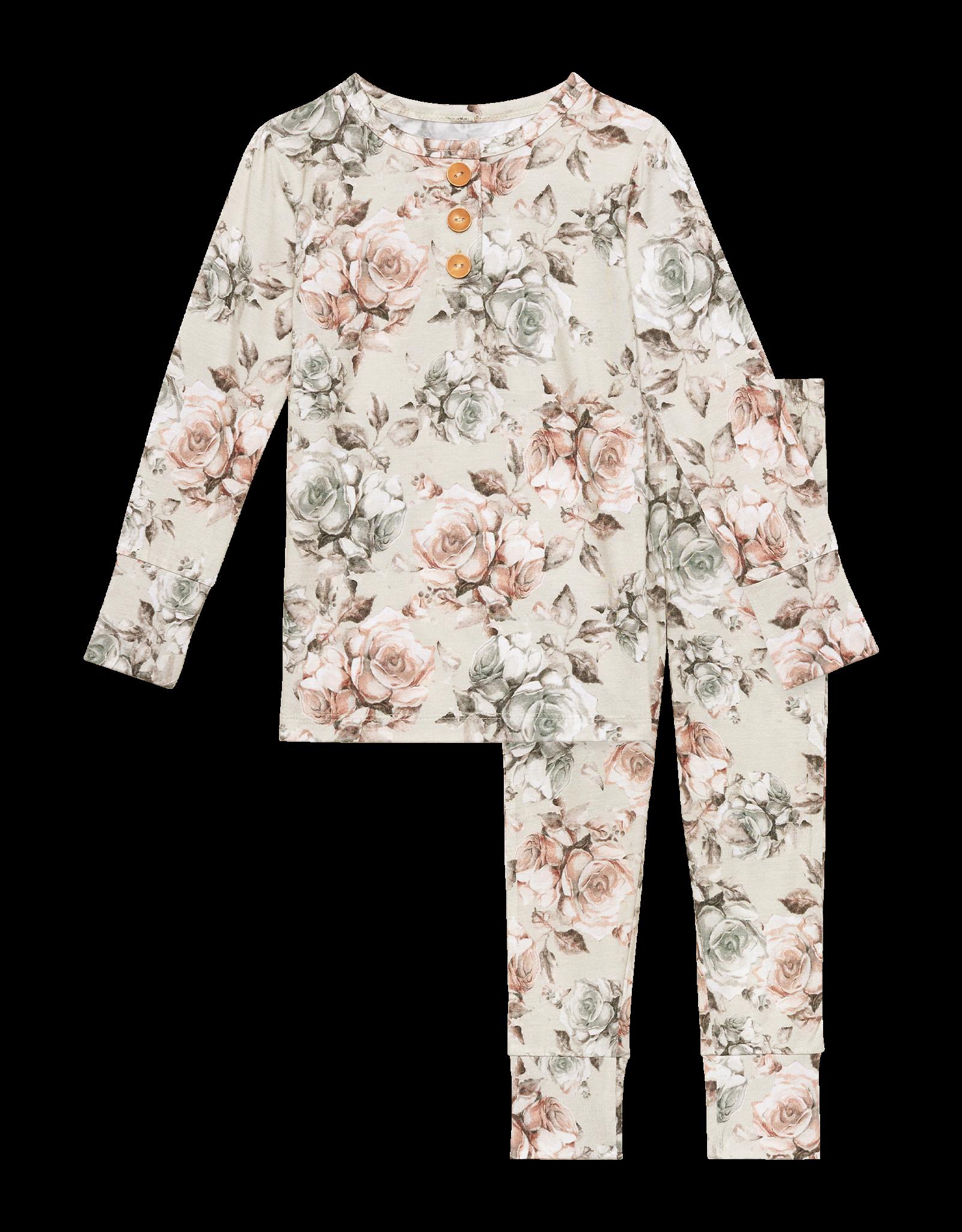 Daniella - Long Sleeve Henley Loungewear