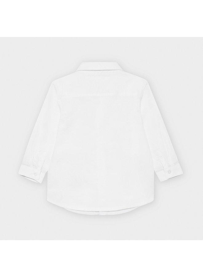 Classic White Oxford Shirt