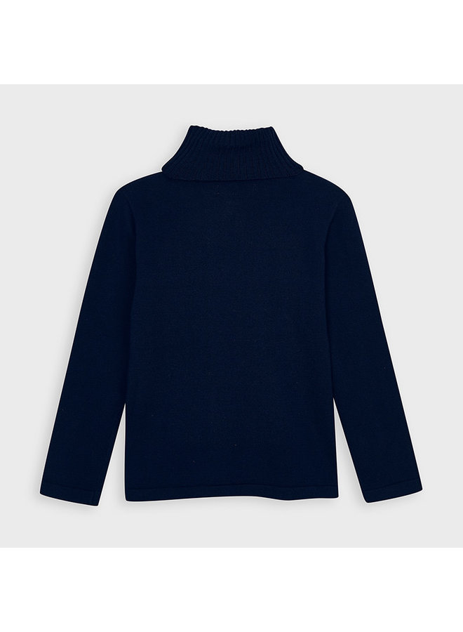 Navy Basic Turtleneck