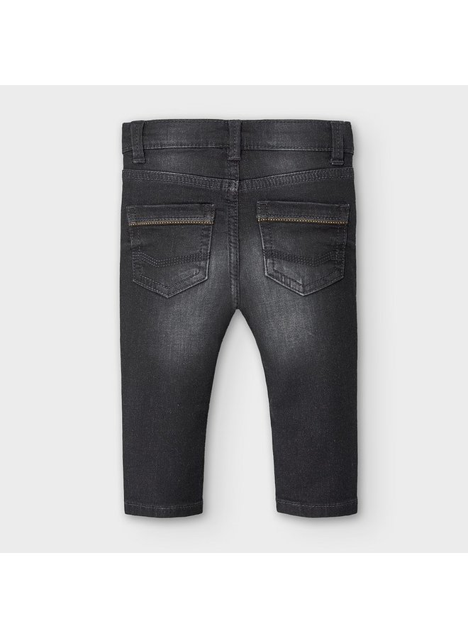 Charcoal Soft Denim Pant