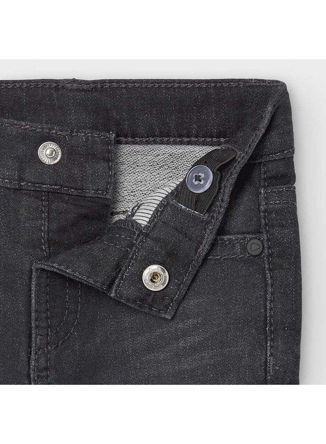 Charcoal Soft Denim Pant