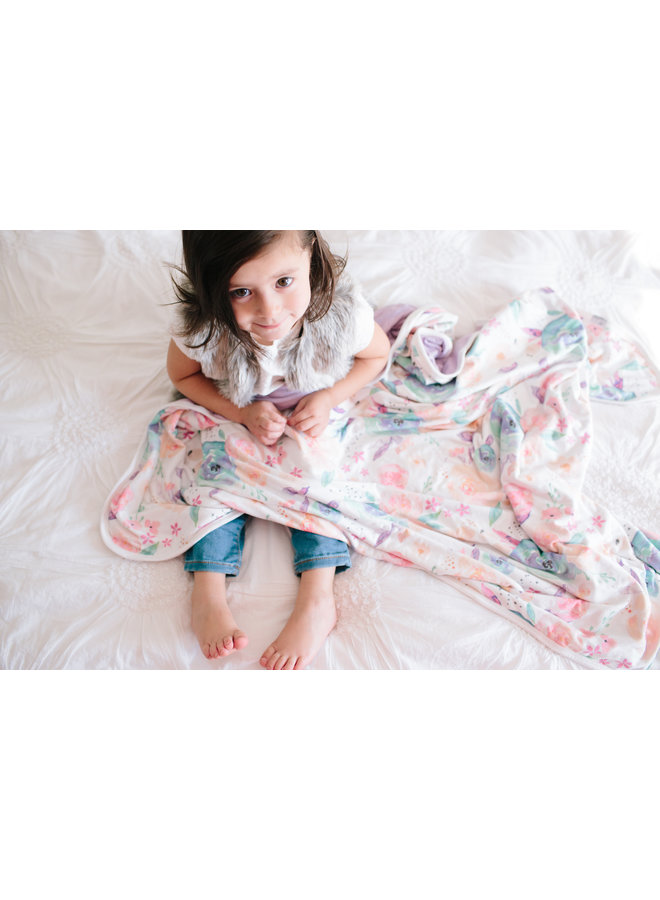 Bloom 3-Layer Stretchy Quilt