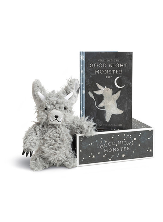 Good Night Monster Storybook & Plush Kit