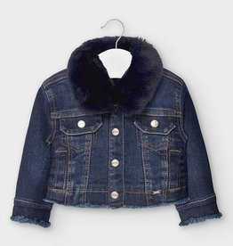 Removable Fur Collar Jean Jack