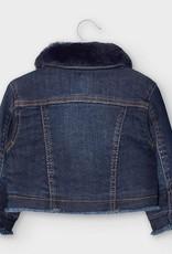 Removable Fur Collar Jean Jack