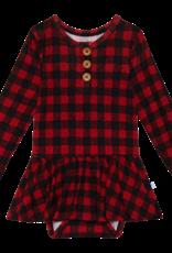 Grayson - Long Sleeve Henley with Twirl Bodysuit