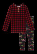Levi - Long Sleeve Henley Loungewear