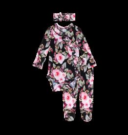 Milana - Ruffled Kimono Set