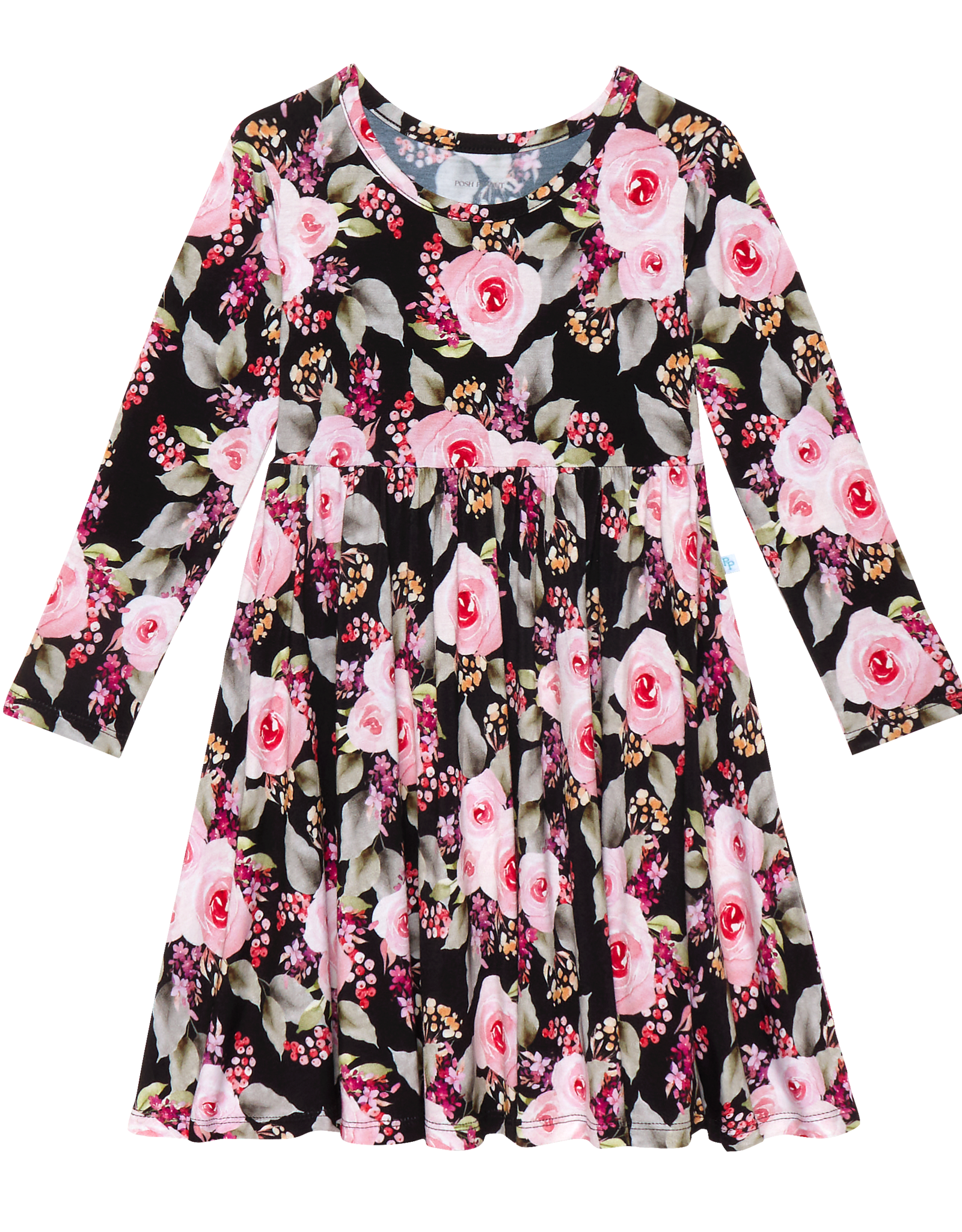 Milana - Long Sleeve Twirl Dress