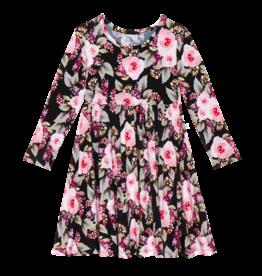 Milana - Long Sleeve Twirl Dress