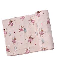 Sugarplum Fairies Swaddle Blanket