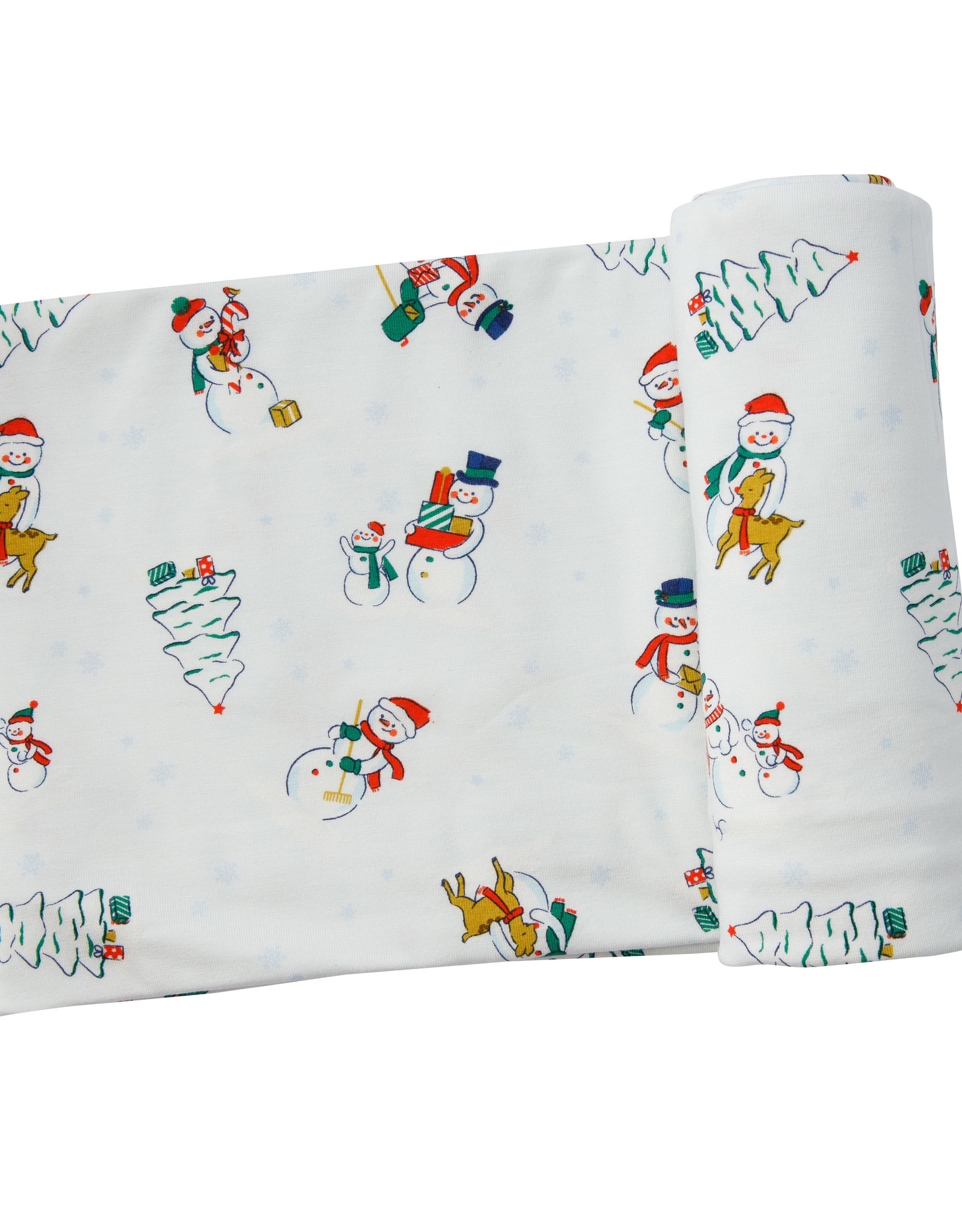 Snowfolk Swaddle Blanket