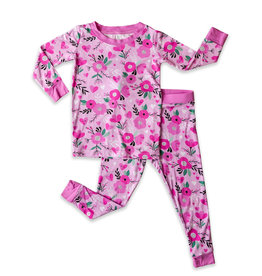 Little Sleepies Sweetheart Floral Pajama
