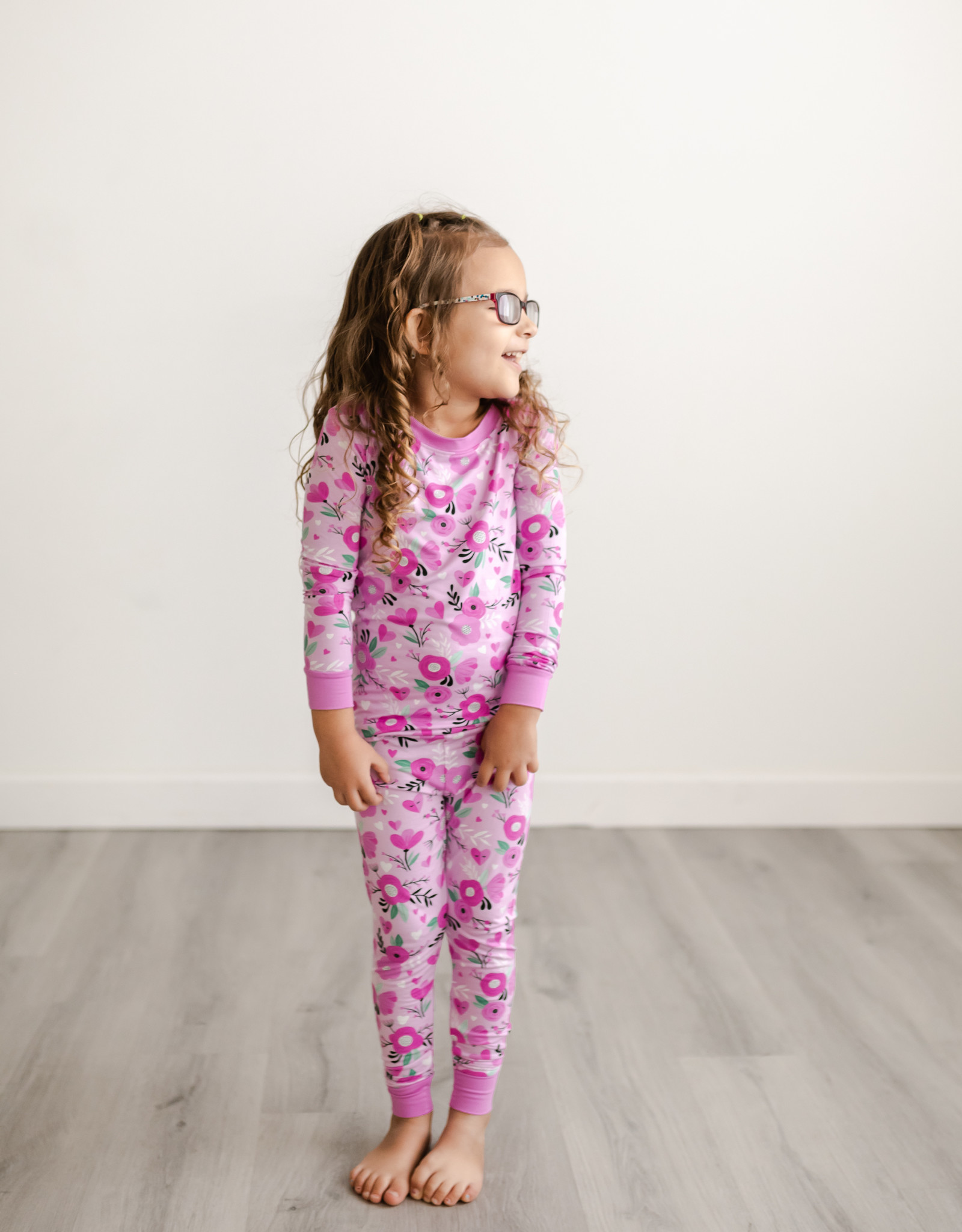 Little Sleepies Sweetheart Floral Pajama