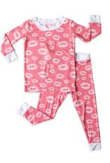 Little Sleepies Pink Kisses Pajama