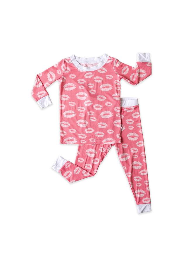 Pink Kisses Pajama