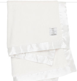Little Giraffe Luxe Solid Blanket - Cream