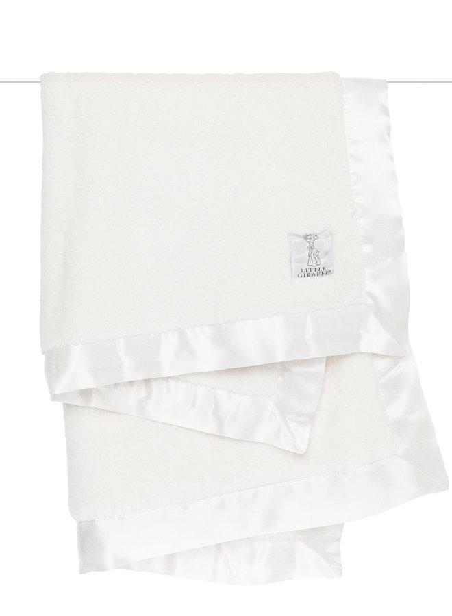 Luxe Solid Blanket - Cream