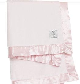 Little Giraffe Luxe Solid Blanket - Pink