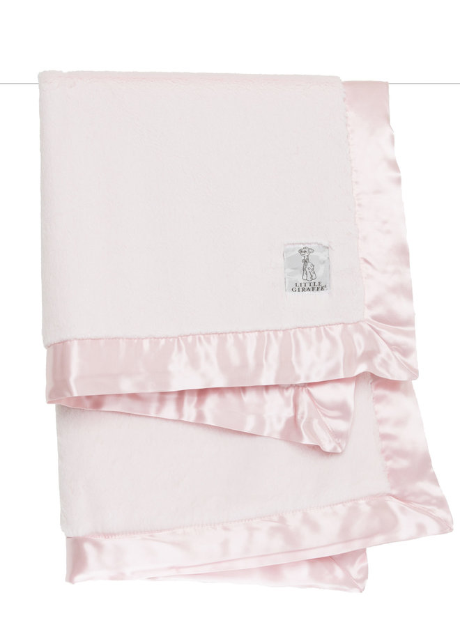Luxe Solid Blanket - Pink