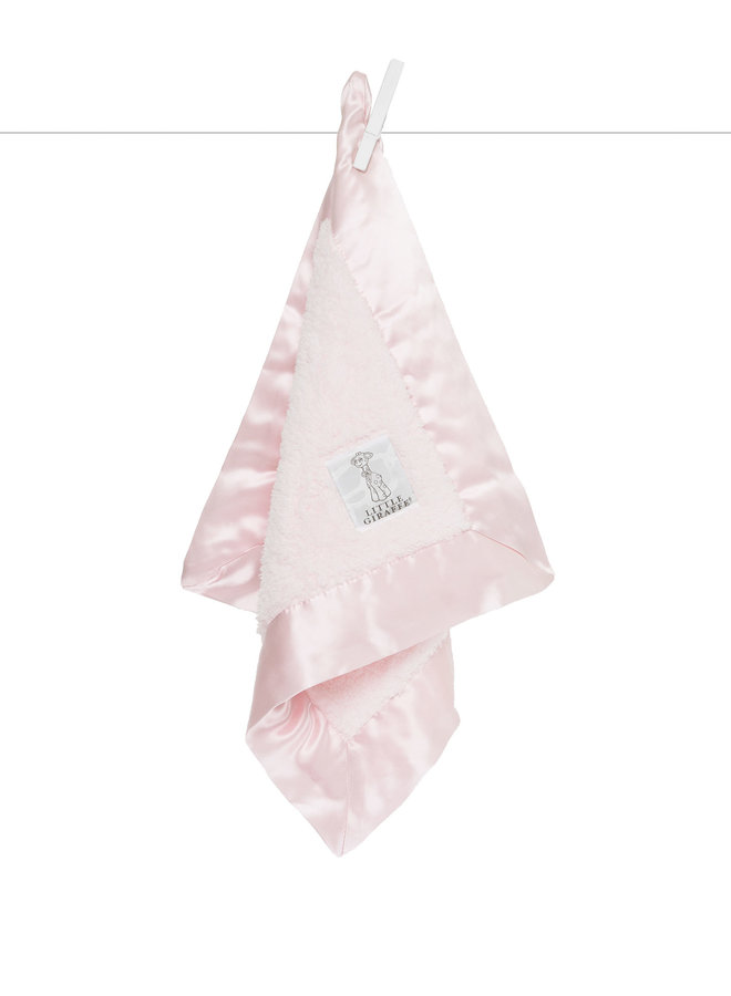 Chenille Blanky - Pink