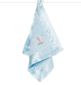 Little Giraffe Chenille Blanky - Blue