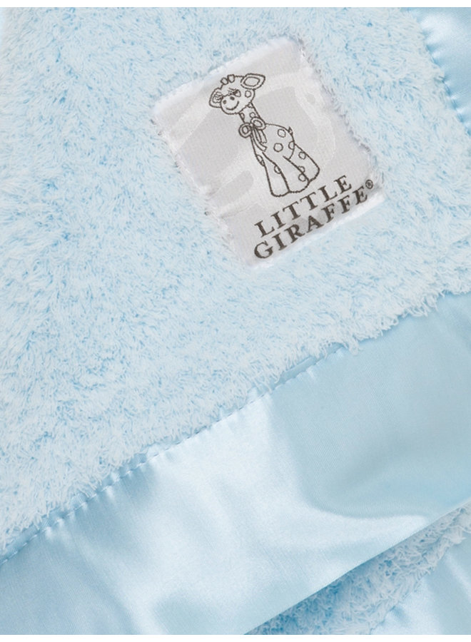 Chenille Blanky - Blue