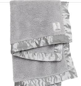Little Giraffe Chenille Blanket - Silver